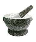 クロックヒン セット(石材うす)サイズ7インチ